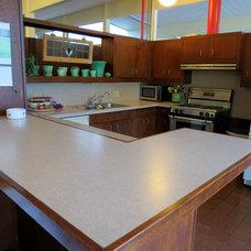 Midcentury Kitchen by Lisa Hallett Taylor