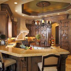 Mediterranean Kitchen by Busby Cabinets