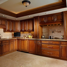 Traditional Kitchen by Wightman Construction, Inc.