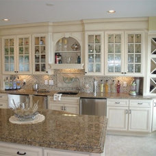 Mediterranean Kitchen by ocean city kitchen and bath
