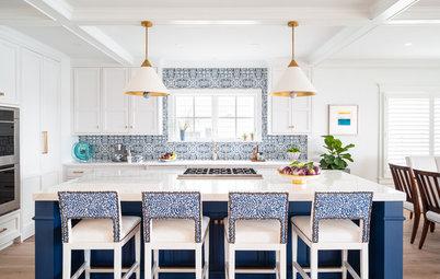 3 Beautifully Vibrant Kitchens