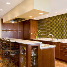Contemporary Kitchen by Mary Courville Designs