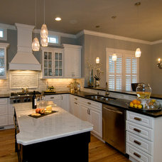 Traditional Kitchen by Whitney Blair Custom Homes