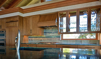 "Ocean Theme Backsplash - ""Poseidon's Perch"""
