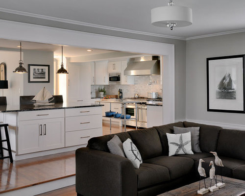 Step Down Family Room Houzz