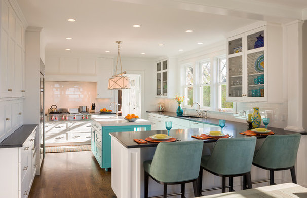 Beach Style Kitchen by George Penniman Architects, LLC