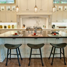 Traditional Kitchen by Boulevard Tile and Stone Inc.