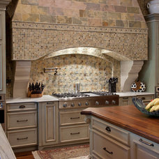 Mediterranean Kitchen by Gage-Martin Interiors