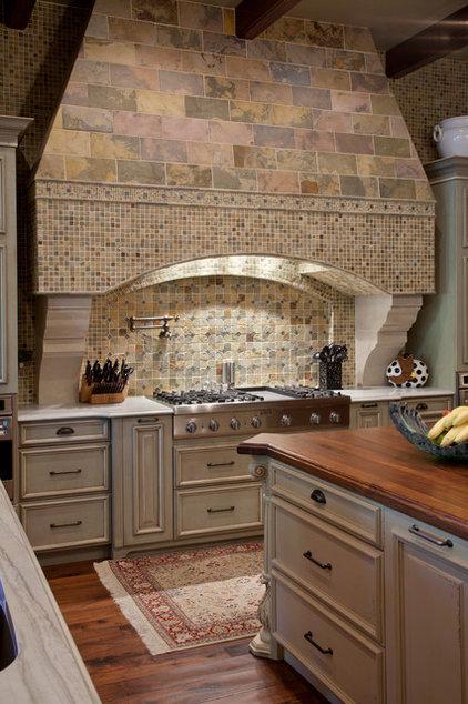 Mediterranean Kitchen by Gage-Martin Interiors
