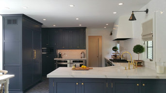 Off Black Sophisticated Custom Kitchen - Greenwich CT