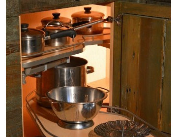 Off-the-grid Adirondack Rustic kitchen
