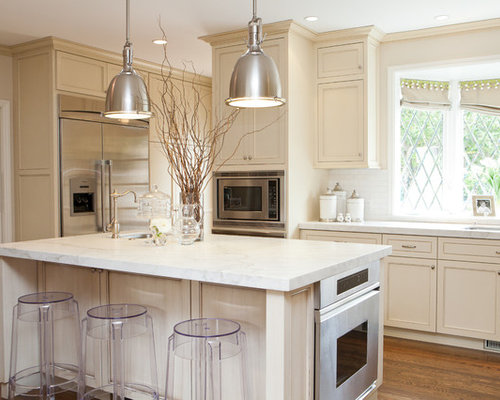 Off White Kitchen Backsplash off white kitchen | houzz