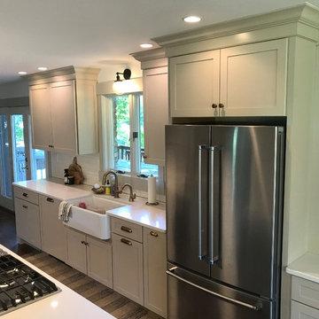 Off White Kitchen Remodel