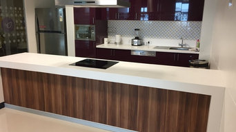 Office pantry kitchen with Gloss finish