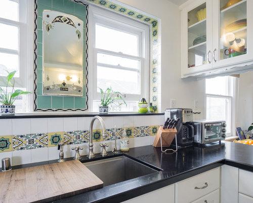 1930S Kitchen With Vinyl Floors Design Ideas amp Remodel Pictures
