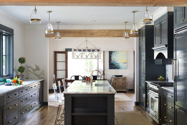Transitional Kitchen by Willow Homes