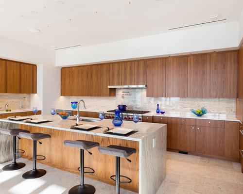 kolonialstil k chen in u form ideen design bilder houzz. Black Bedroom Furniture Sets. Home Design Ideas