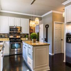 Transitional Kitchen by Herald Gardell, Ltd. Design Services