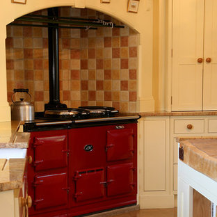 Oil Fired Aga with 'Chimney Breast Surround'