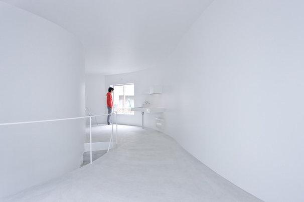 Contemporary Kitchen Okurayama Apartments
