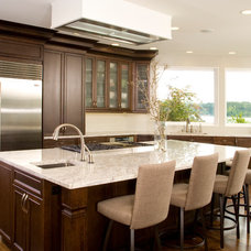 Traditional Kitchen by Choice Construction