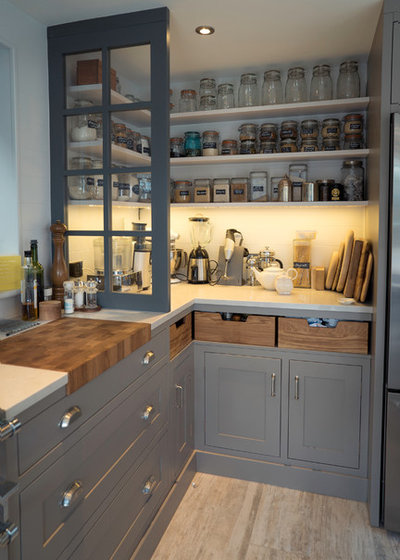 American Traditional Kitchen by Kingshill Furniture