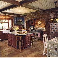Rustic Kitchen by Denman Construction