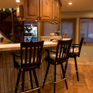 Old Country Cottage Kitchen Remodel