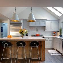 Transitional Kitchen by Sellars Lathrop Architects, llc