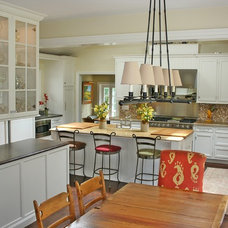 Farmhouse Kitchen by JWH Design and Cabinetry LLC
