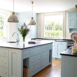 Wonderful Light Blue Cabinets | Houzz Pictures