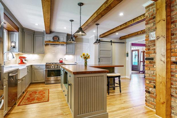 Country Kitchen by Jenny Roush Newman, Designer