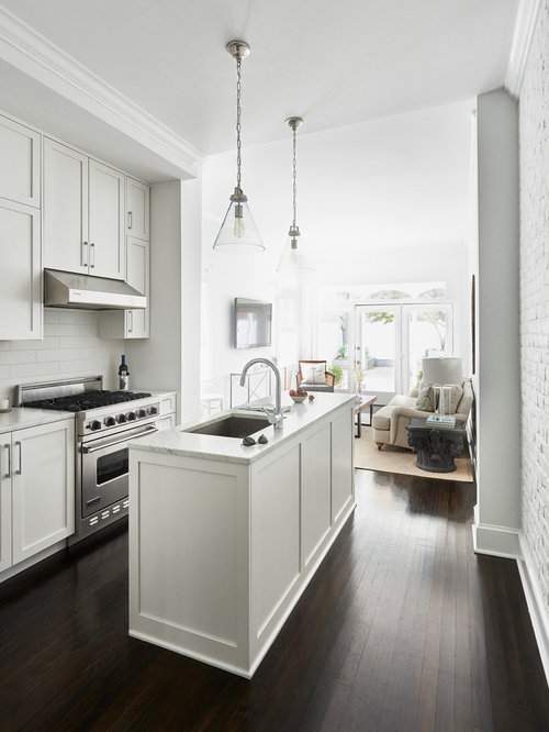 Narrow Kitchen | Houzz