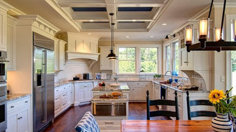 Old Trail Walnut Hardwood Flooring for Farinelli Construction Home-A-Rama