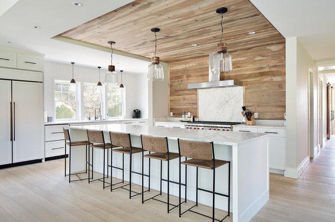 Farmhouse Kitchen by Hanley Development