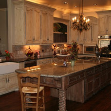 Traditional Kitchen by Monticello Cabinets & Doors