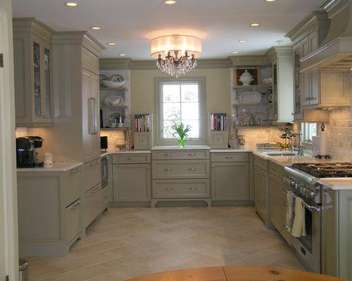 cuisine avec un sol en travertin photos et id es d co de cuisines. Black Bedroom Furniture Sets. Home Design Ideas