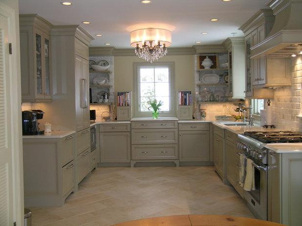 Traditional Kitchen by Marlene Wangenheim AKBD, CAPS, Allied Member ASID
