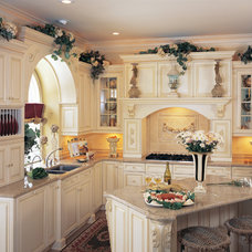 Mediterranean Kitchen by Kitchens by Wedgewood