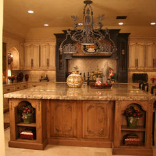 Mediterranean Kitchen by Monticello Cabinets & Doors