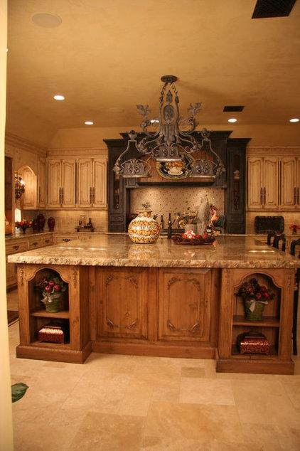Mediterranean Kitchen by Monticello Cabinets & Doors