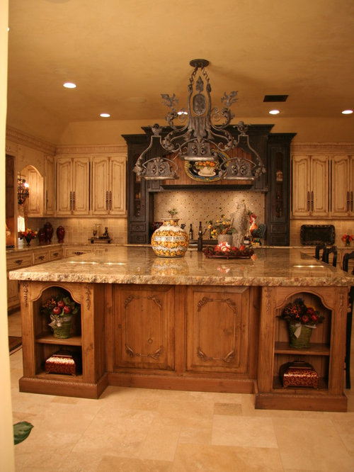 Old world kitchens houzz for Old world tuscan kitchen designs