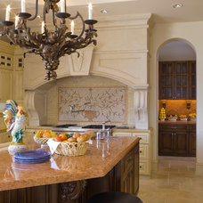 Mediterranean Kitchen by SoCal Contractor