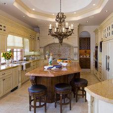 Mediterranean Kitchen by SoCal Contractor