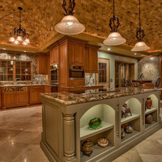 Mediterranean Kitchen by Eurowood Cabinets, Inc