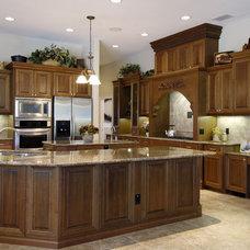 Mediterranean Kitchen by Custom Designs Cabinetry