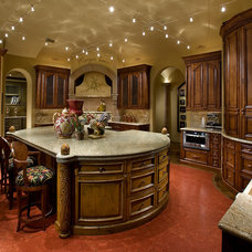 Traditional Kitchen by IMI Design, LLC