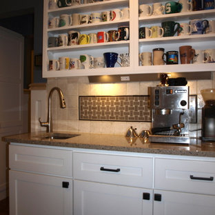Traditional kitchen photos - Elegant kitchen photo in Other