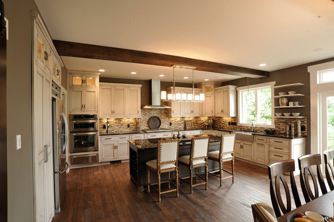 Traditional Kitchen by Weaver Custom Homes