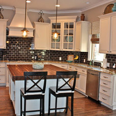 Transitional Kitchen by Ally Whalen Design